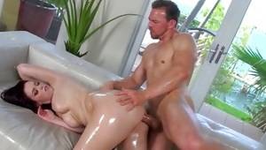 Bending throughout slut is getting her poked