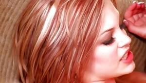 Blonde tattooed slut acquires her drilled with a raw massive weiner