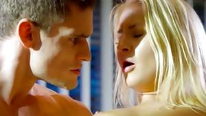 That insanely horney blonde lady is having hot sexy manoeuvre with her master