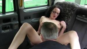 Curly whorish bitch sucks the heavy pecker