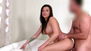 Fabulous bitchy model is drilled fiercely